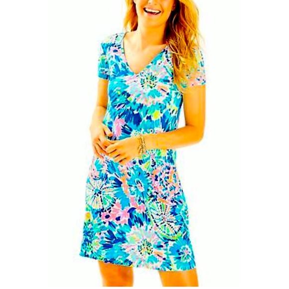 Lilly Pulitzer Jessica Cotton Dress S